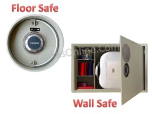 Wall Safe - lemari besi dinding & Floor Safe - lemari besi lantai